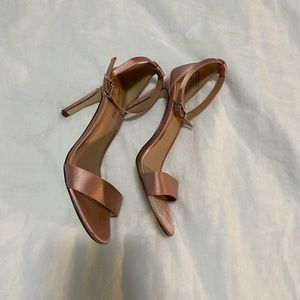 Rose gold heels from Call it Spring